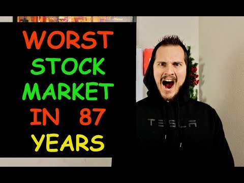 this is the WORST stock market december since GREAT DEPRESSION