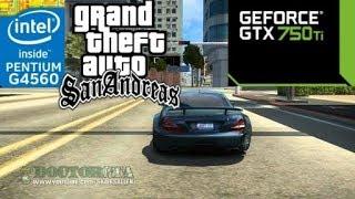 GTA San Andreas Ultra Realistic Graphics on [PC] GTX 750 Ti 2GB GDDR5 & Intel Pentium G4560