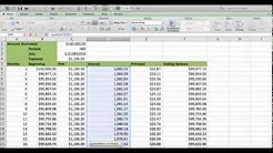 How to build an Amortization table in EXCEL (Fast and easy) Less than 5 minutes