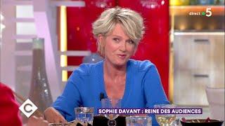 Au dîner avec Sophie Davant - C à Vous - 09/05/2018
