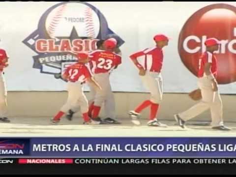 Metros a la final del Clásico de Pequeñas Ligas