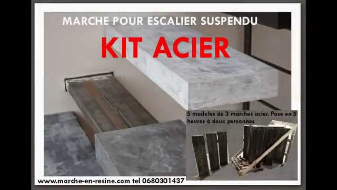 Escalier Suspendu Monolith En Kit Youtube