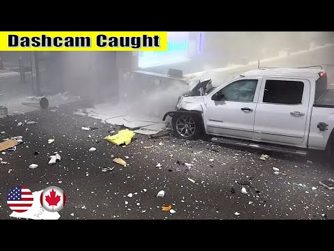 Ultimate North American Cars Driving Fails Compilation - 135 [Dash Cam Caught Video]