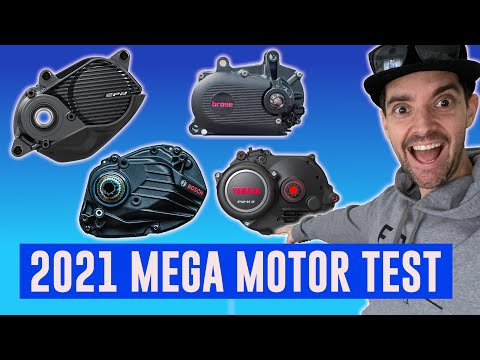 Huge 2021 eBike Motor Test - I couldn't believe the difference!