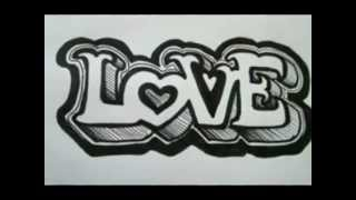 Repeat youtube video OUTSTANDING!! 3D Graffiti letters On Paper - The Basics - Love Letters