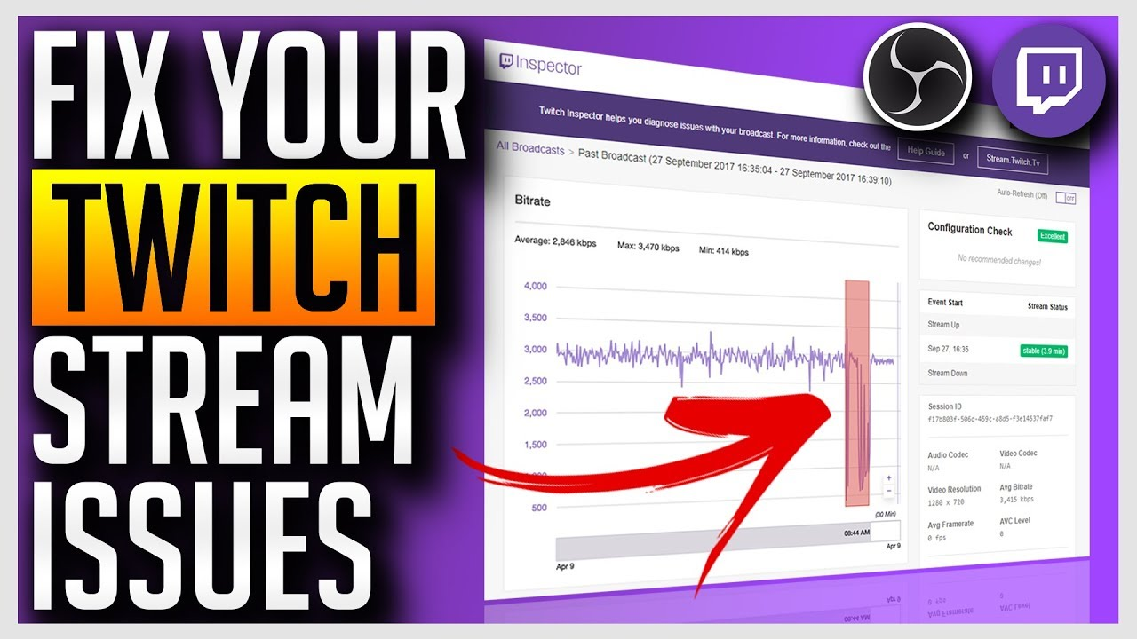 Fix Lag, Dropped Frames, Bitrate Issues on your Twitch Stream
