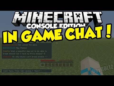 minecraft chat box in single player Each message in the chat is prefixed with a single-colored letter, signifying the the residence channel can be used to chat with players on the same residence you are connected to /chat clear - clears the chat box /away.