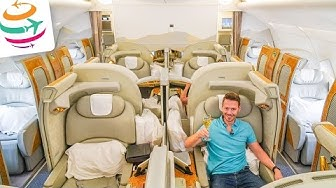 EMIRATES First Class A380 Der pure Luxus | YourTravel.TV