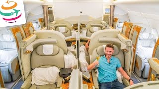 EMIRATES First Class A380 Der pure Luxus | GlobalTraveler.TV