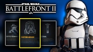Game | CREATE YOUR OWN GAME! Arcade Custom Star Wars Battlefront 2 | CREATE YOUR OWN GAME! Arcade Custom Star Wars Battlefront 2