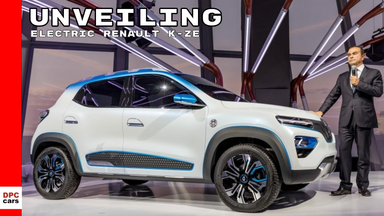 Electric Renault K Ze Unveiling Youtube