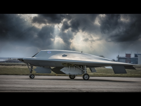 Test flight operations of UK combat drone/UAV Taranis