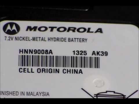 Motorola battery date code for Two Way radio
