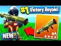 *NEW* GUIDED MISSILE UPDATE! Fortnite: Battle Royale Gameplay
