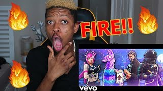 RiceGum - Fortnite N Chill (Official Music Video) - REACTION!!!