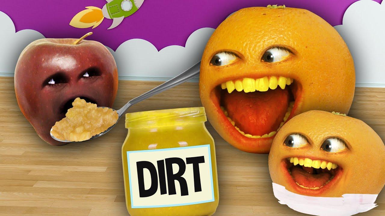 The Annoying Orange - Baby Food Challenge #2!