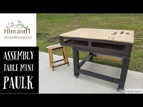 easy to build assembly table #woodworking #assemblytable #table