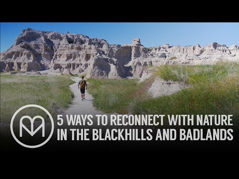 5 Ways To Reconnect With Nature In The Blackhills & Badlands
