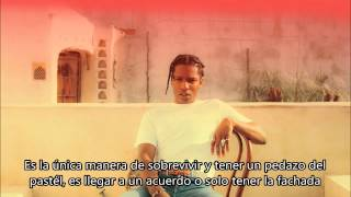 A$AP Rocky - Everyday ft. Rod Stewart x Miguel x Mark Ronson (Subtitulado en Español)