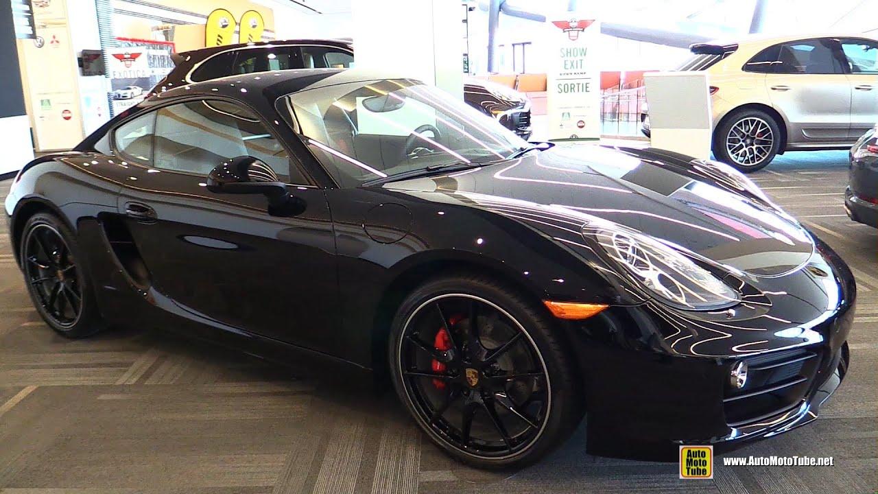 2016 Porsche Cayman S Exterior And Interior Walkaround 2016 Ottawa Gatineau Auto Show Youtube