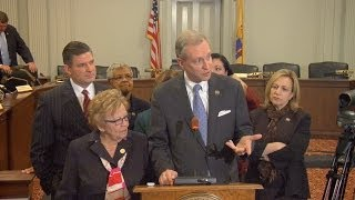 Wisniewski, Weinberg Media Avail After First Meeting of NJ Select Committee on Investigation