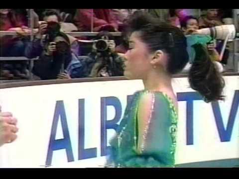 Kristi Yamaguchi (USA) - 1992 Albertville, Ladies' Original Program