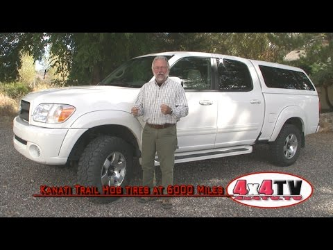 4x4TV Product Review - Kanati Trail Hog Tires @ 6000 Miles