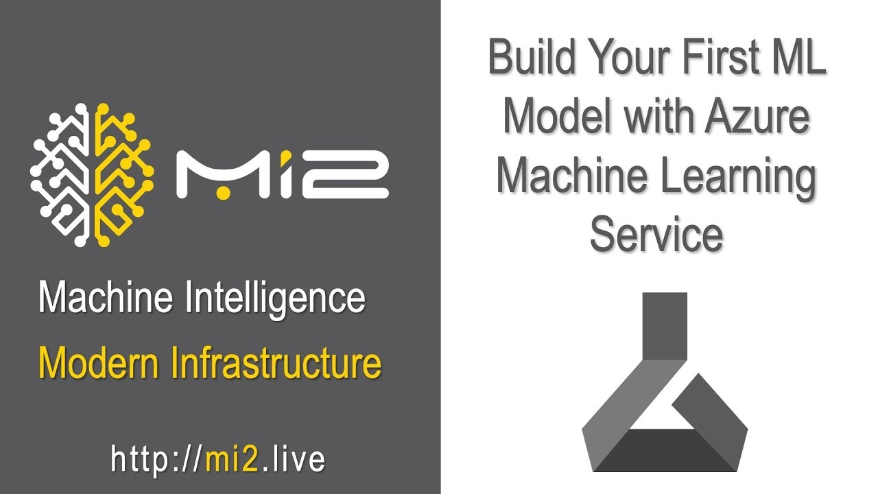 Build Your First Ml Model With Azure Machine Learning Services Youtube