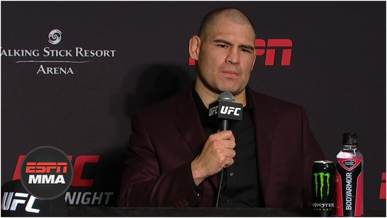Cain Velasquez Post-Fight Press Conference | UFC Fight Night: Ngannou vs. Velasquez | ESPN MMA