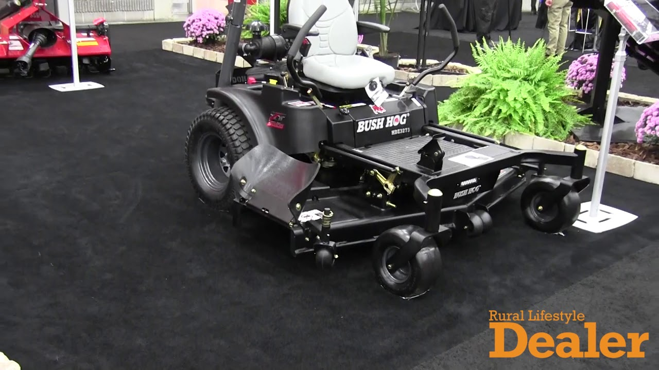Bush Hog's Enhanced Zero-Turn Mower