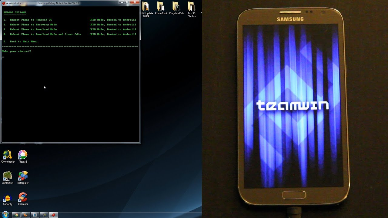 How To Root and Install Custom Recovery on the Samsung Galaxy Note 2 / II  (ALL CARRIERS!)