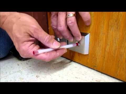 Nightlock Lockdown Door Barricade Installation Youtube