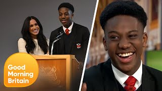 The Dagenham Pupil That Told Meghan Markle She's Beautiful | Good Morning Britain
