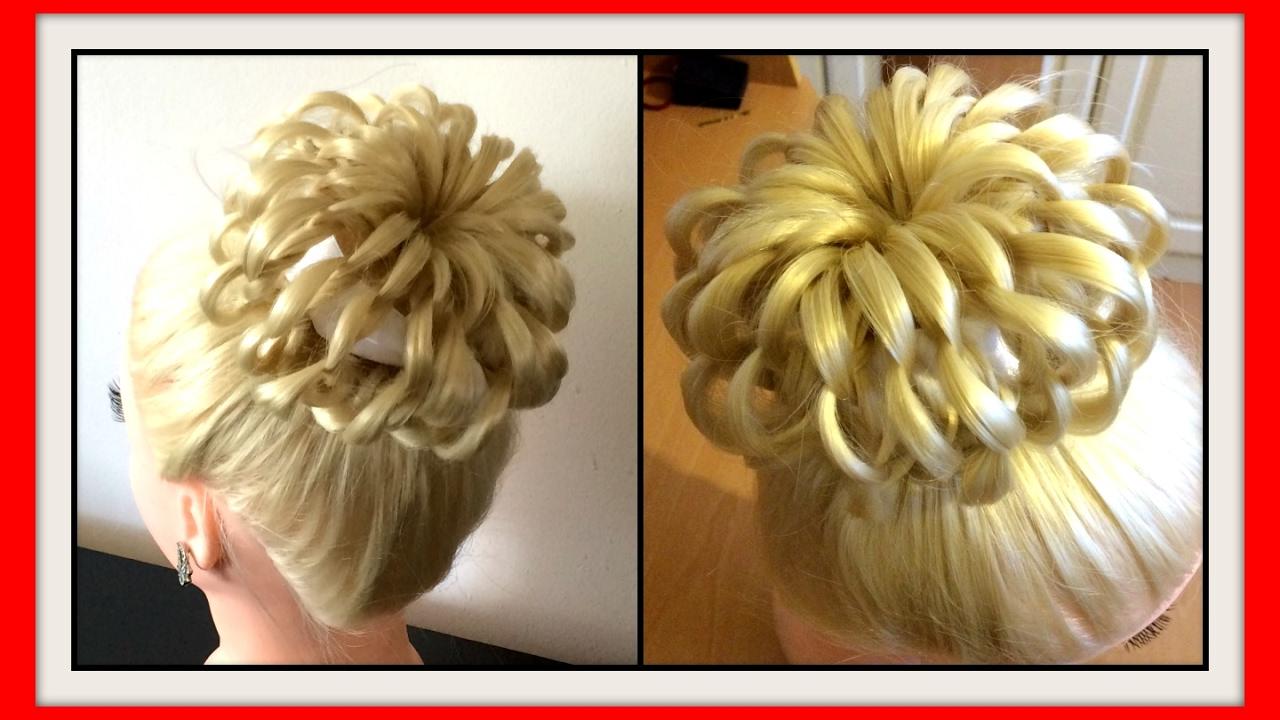 3d Loop Bun Hairstyle Hairglamour Styles Hairstyles Hair