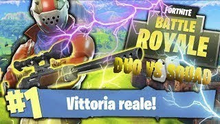 FORTNITE - DUO VS SQUAD - REAL VITTORY