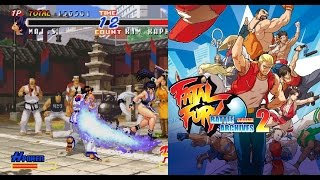 PS4 FATAL FURY BATTLE ARCHIVES Vol  2 overview of all features