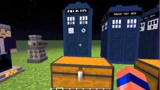 Minecraft Doctor Who Mod Review