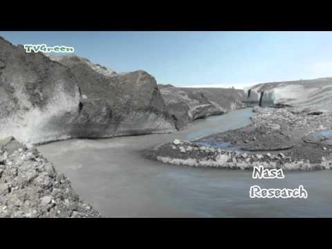 Greenland: Melting Ice Sheet - Smeltende IJskap