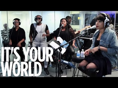 "Jennifer Hudson ""It's Your World"" // SiriusXM // Heart & Soul"