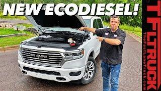 Sneak Peek! See And Hear The Brand New 2020 Ram 1500 EcoDiesel!