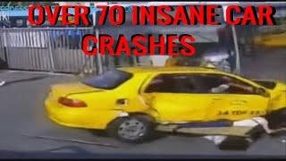 over 70 insane car crashes - more than 70 insane car crashes -  over 70 too extreme car crashes