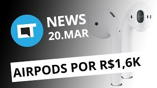 AirPods de segunda geração; Google multada em US$ 1,7 bilhão e + [CT News] thumbnail