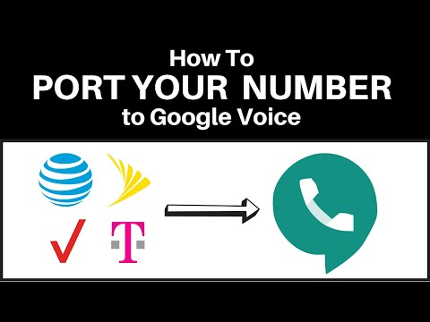 How To Port Your Phone Number To Google Voice In 2019