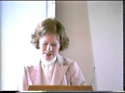 Classic: Rosalynn Carter on mental health policy 1982