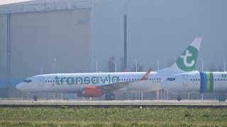 transavia gol new old livery boeing 737 800 ph gub
