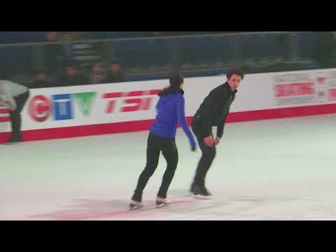 Tessa Virtue/Scott Moir Canadian Nationals 2018 Gala Practice