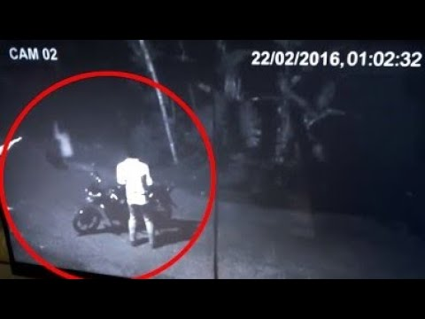 Real ghost on the road in faislabad pakistan  cctv videos  cctv world