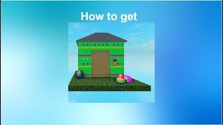 Roblox - Horrific housing - Bunny Boss and How to get Egg Accessory