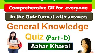 World General Knowledge Questions and Answers (English)