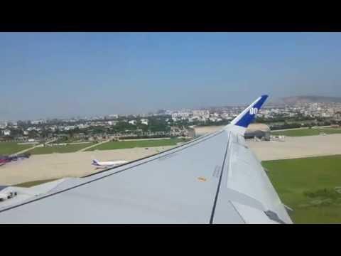 GoAir Flight Take off from Jaipur International Airport